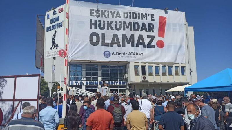 Atabay'a destek için toplandılar