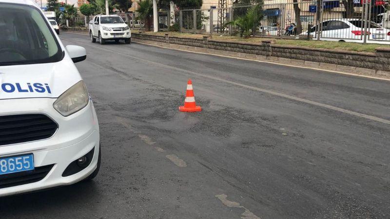 Nazilli'de ölümden dönüldü! Çöken asfalt...