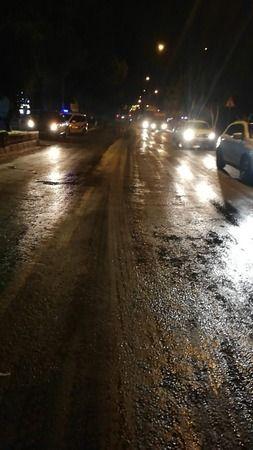 Karayolları kirletti, Nazilli Belediyesi temizledi
