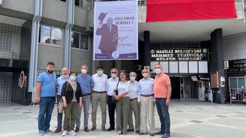 Süleyman Demirel 6. ölüm yıl dönümünde Nazilli'de anıldı
