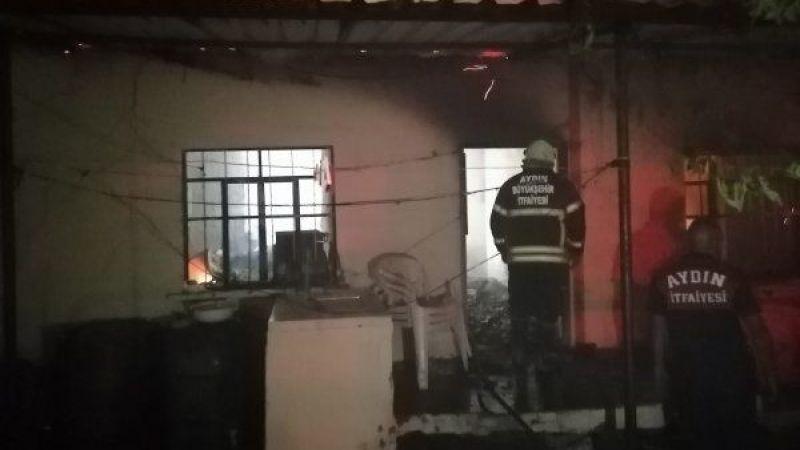 Nazilli'de ev yangınında 1 kişi öldü