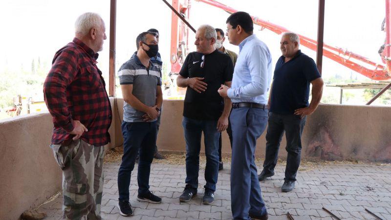 Başkan Özcan Hamidiyelilere verdiği sözü yerine getiriyor