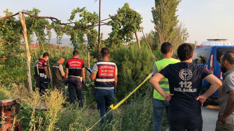 Aydın'da elektrik akımına kapılan çiftçi öldü