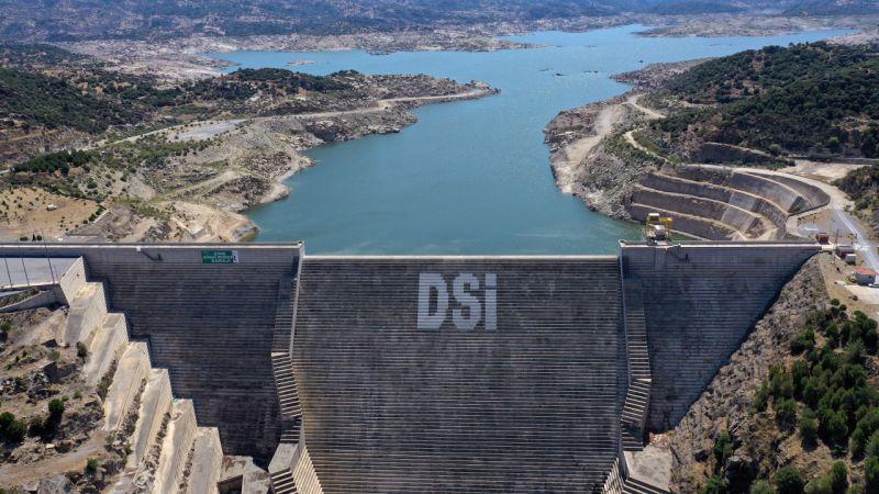 Aydın'da su seviyesi kuraklık nedeniyle yüzde 19'a geriledi