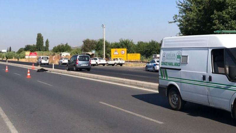 Aydın'da kaza: Karşıdan karşıya geçmek isterken canından oldu