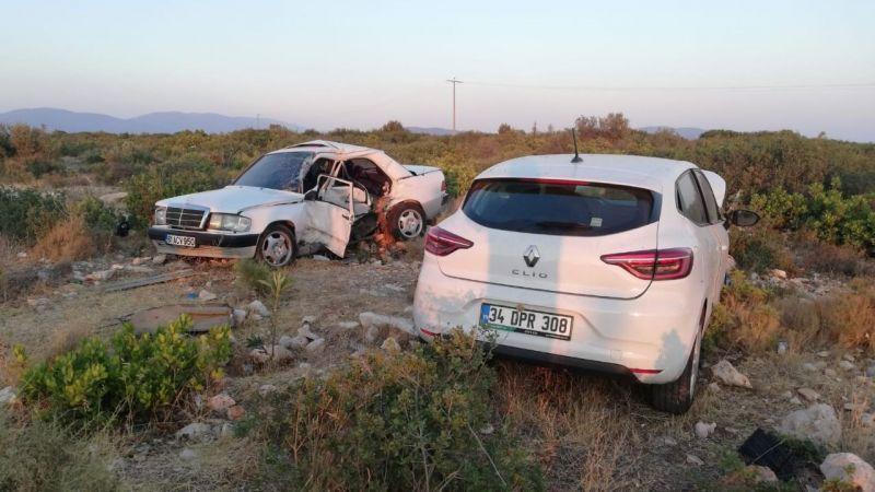 Aydın'daki trafik kazasında 1 kişi öldü, 5 kişi yaralandı