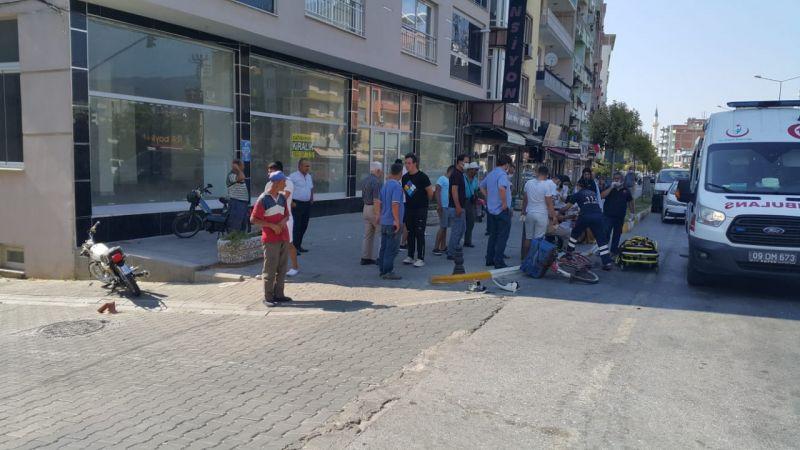 Aydın'da çocuk sürücü kaza yaptı: 2 yaralı