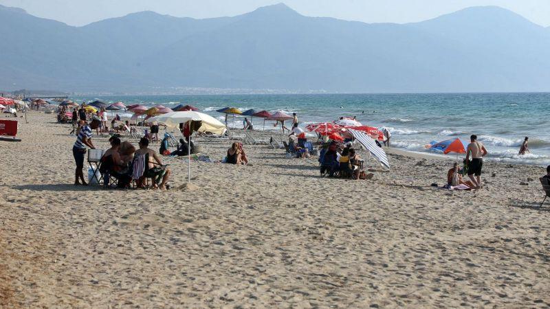 Aydın'da tatilin son günü yoğunluk yaşanıyor