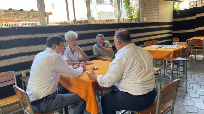 Başkan Özcan'dan kahveci esnafına tatlı sürpriz