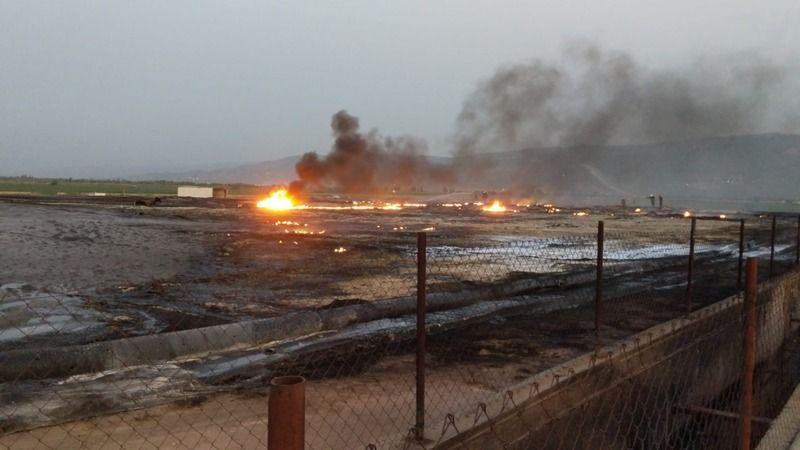 Aydın'da gaz tesisinde patlama
