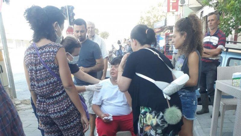 Aydın'da iki otomobil çarpıştı: 1 yaralı