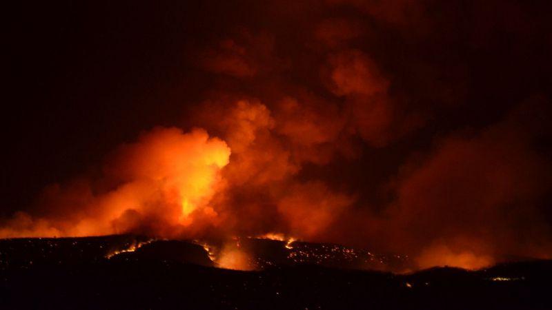 Aydın'da yangınla mücadele devam ediyor