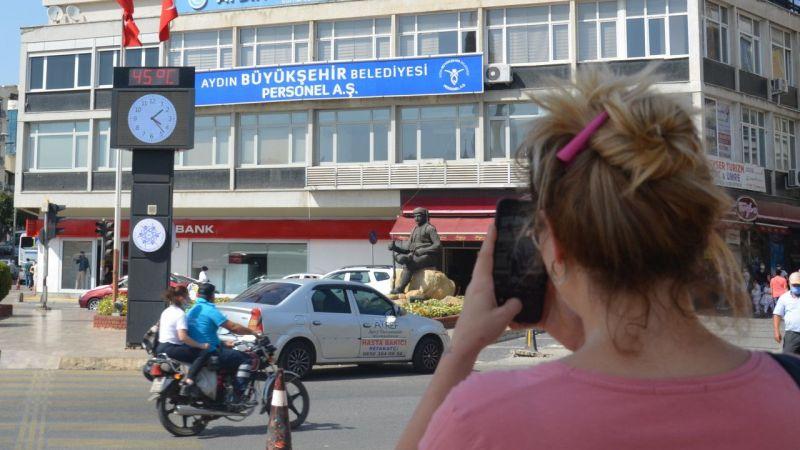 Aydın'da sıcaklık rekoru kırıldı