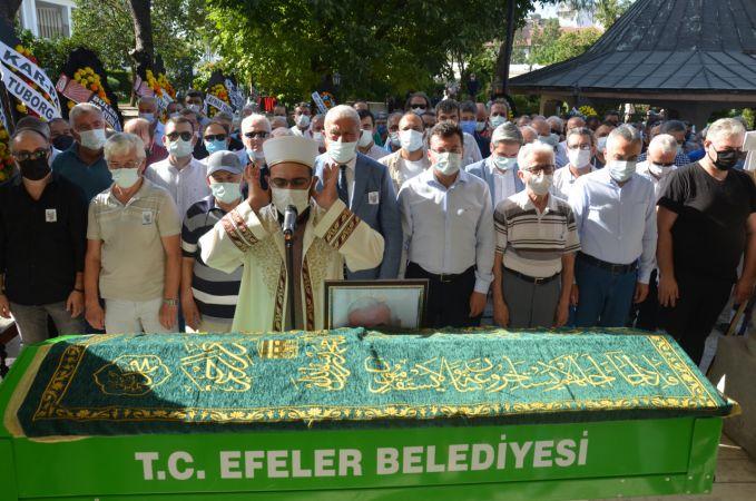Eski Aydın Belediye Başkanı İlhami Ortekin, son yolculuğa uğurlandı