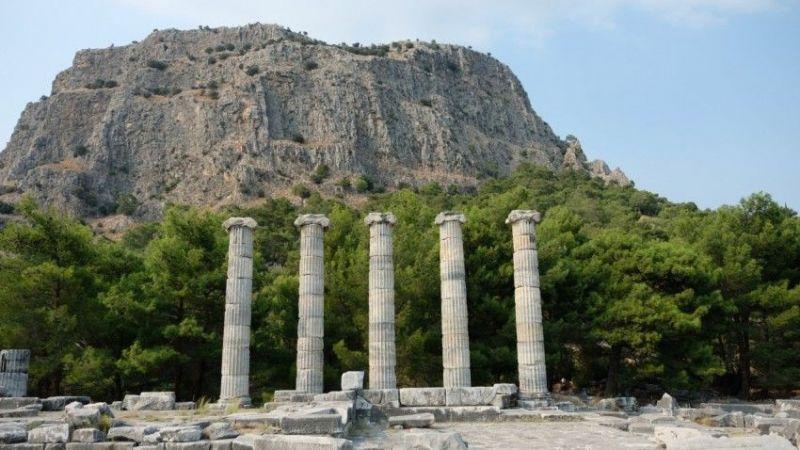 Aydın'daki Priene Antik Kenti'ne giriş yasaklandı