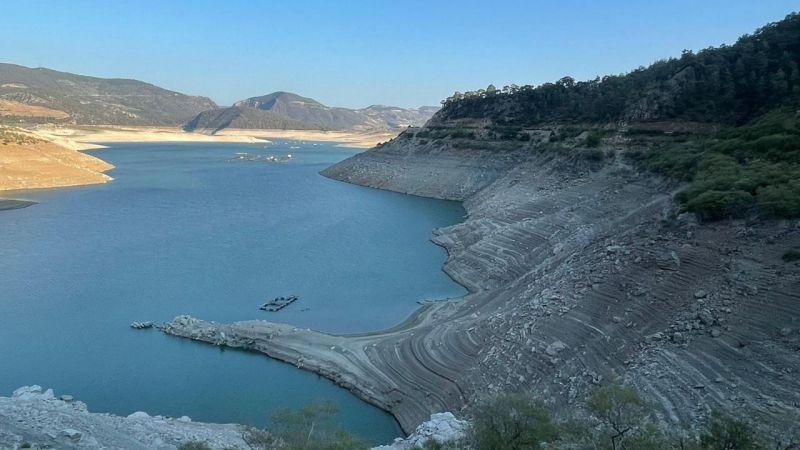 Aydın Kemer Barajı resmen sıfıra indi