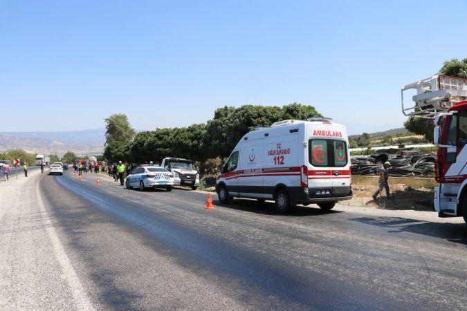 Beton mikserinin çarptığı otomobilin sürücüsü öldü