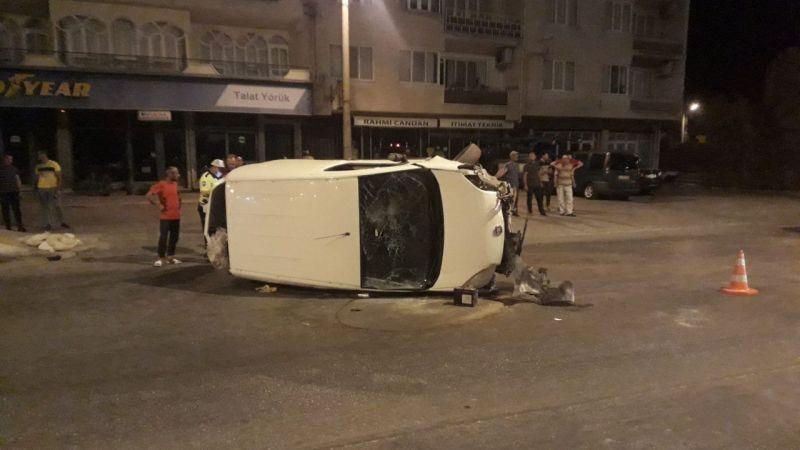Aydın'da trafik kazası : 1 yaralı