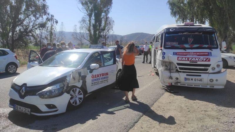 Aydın'da kaza: 6 yaralı
