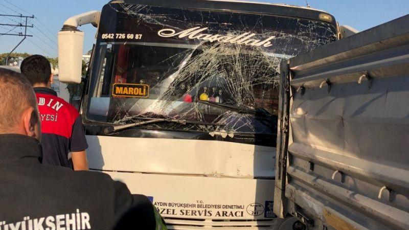 Aydın'da facianın eşiğinden dönüldü: 11 yaralı