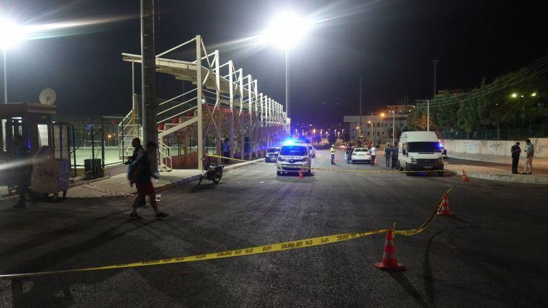 1 polis memuru yaralandı