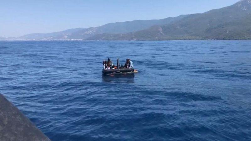 Aydın'da 99 düzensiz göçmen kurtarıldı