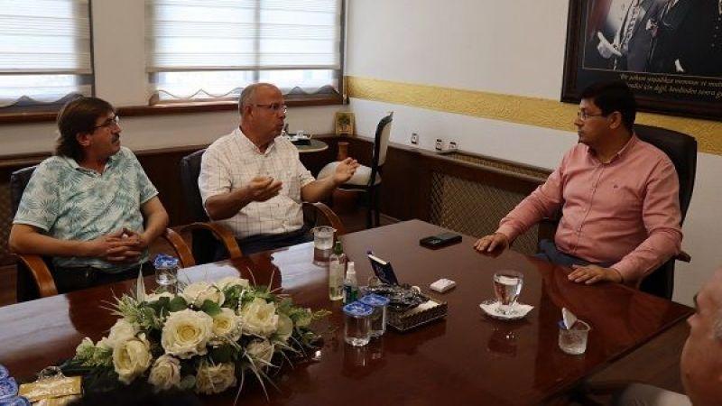 Sendika Başkanı Yaman'dan Başkan Özcan'a övgü dolu sözler