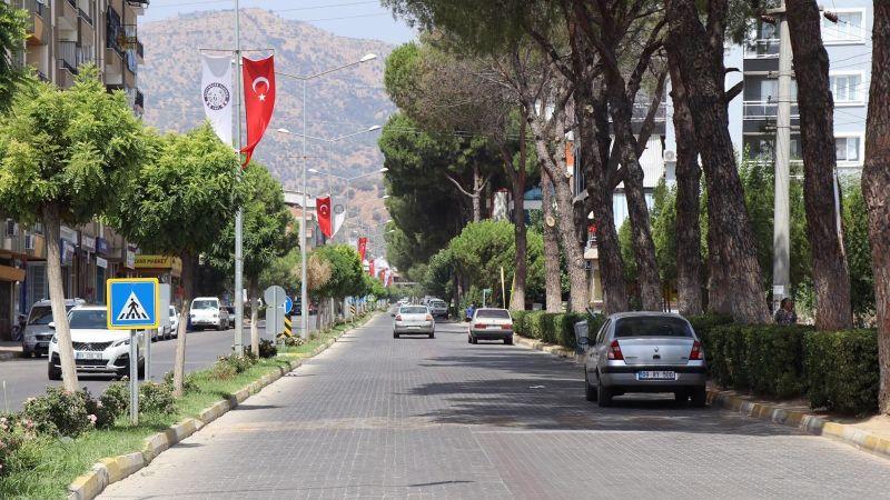 Nazilli Türk Bayraklarıyla donatıldı