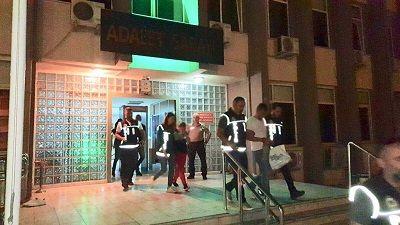 Aydın'da uyuşturucu partisi: 6 kişi...