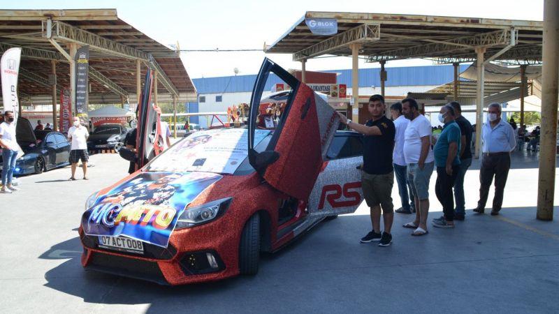 Aydın'da modifiye araç festivali düzenlendi