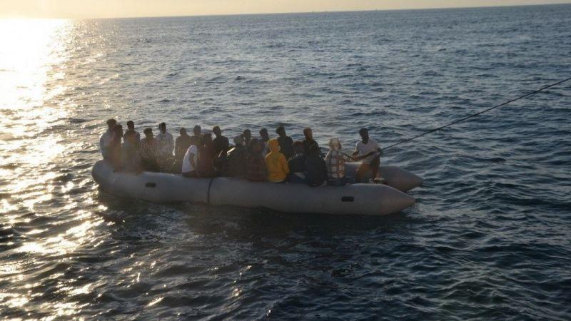 Aydın açıklarında 27 düzensiz göçmen kurtarıldı