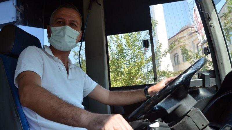 Aydın'da halk otobüsü şoförlerine Kovid-19 aşısı yapıldı