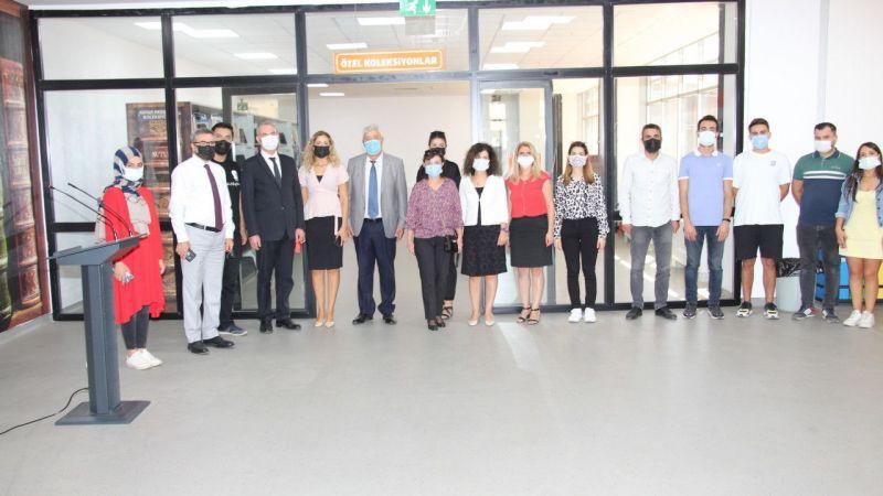 """Aydın'da """"60 yıl sonra Başbakan Adnan Menderes"""" isimli kitap sergisi açıldı"""