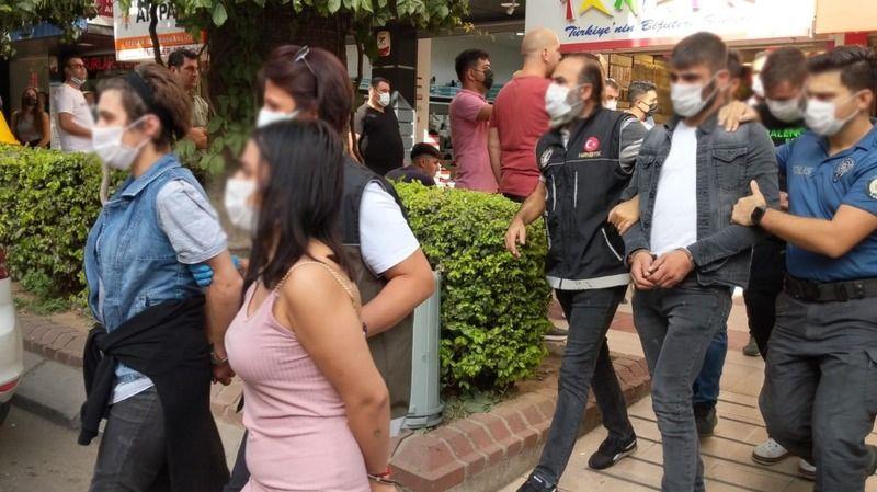 Aydın'da uyuşturucu baskını: 10 gözaltı