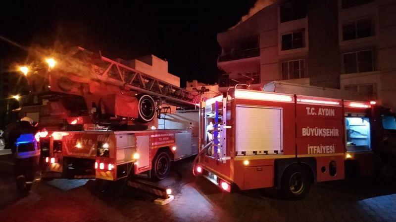 Aydın'da yaşandı! Ailesine kızıp evi ateşe verdi