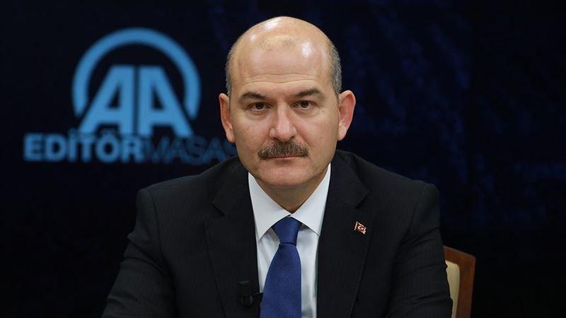 İçişleri Bakanı Süleyman Soylu, Aydın'da konuştu! Eylemlere katılan öğrencilerin yurt başvurusu bulunmuyor