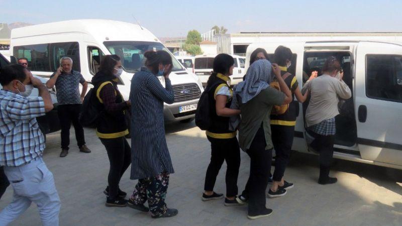 Aydın'da yankesicilik olayına karıştığı iddia edilen 5 şüpheli yakalandı