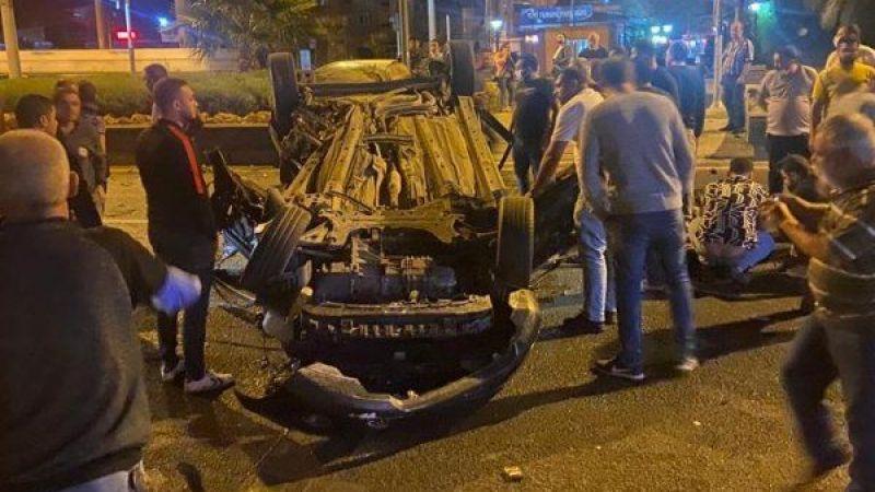 Nazilli'de feci kaza: 2 ağır yaralı