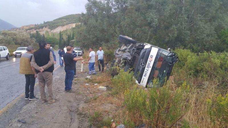 Aydın'da kaza: 1 ölü 6 yaralı