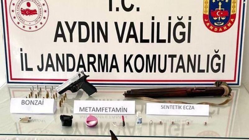 Aydın ve Muğla'da düzenlenen uyuşturucu operasyonunda 5 zanlı yakalandı