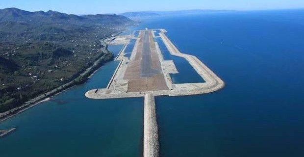 Burası havaalanı ve Türkiye'de…