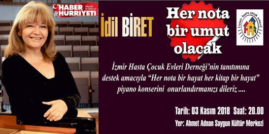 İzmirliler, İdil Biret konserini kaçırmayın