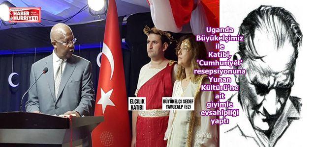 ATATÜRK'Ü MEZARINDA AĞLATTIN 'SAYIN' BÜYÜKELÇİ