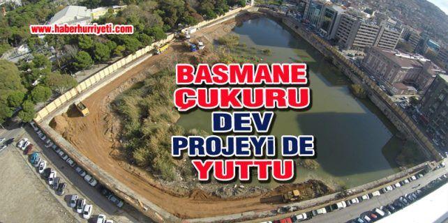 Basmane Çukuru'nda inşaat başlanılamadığı için arsa iade edildi.