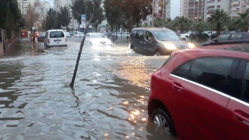 İzmir göle döndü