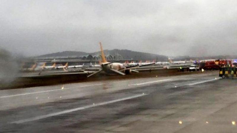 Havalimanı uçuşlara kapatıldı