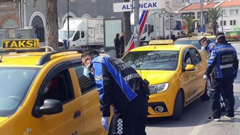 Müşteri beğenmeyen taksici yandı