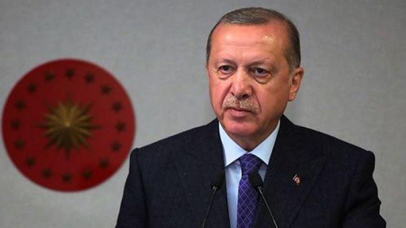 Erdoğan'dan ''başsağlığı'' mesajı