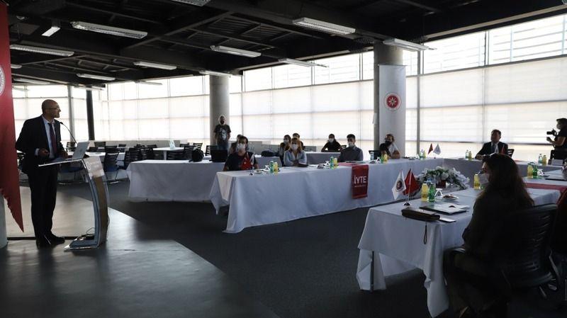 Yüksek teknoloji desteği almaya hak kazananlar İYTE'de buluştu