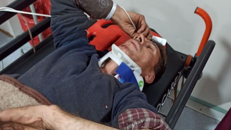 Boynu kırılan hasta 6 saattir sedye üstünde tedavi sırası bekliyor